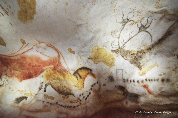 Lascaux IV, detalles - Montignac, Francia por El Guisante Verde Project