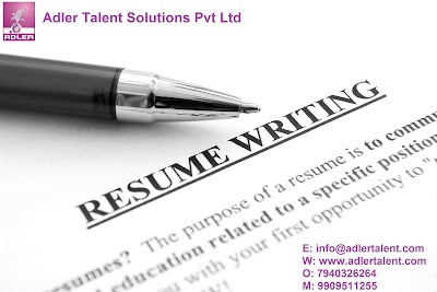 A good resume plays an important part in Recruitment.