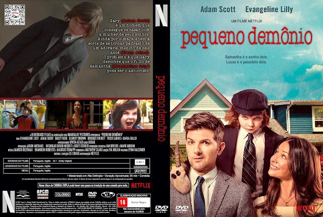 Capa DVD Pequeno Demônio [Exclusiva]