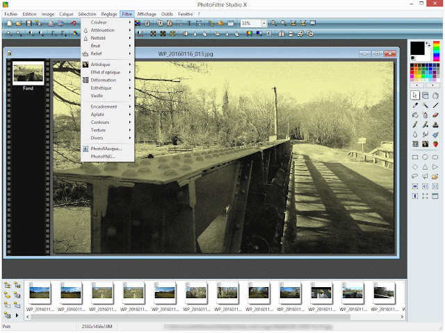 تحميل برنامج تعديل الصور للكمبيوتر عربي مجانا 2020 PhotoFiltre