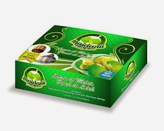 Kemasan pancake durian, oleh-oleh khas kota Medan