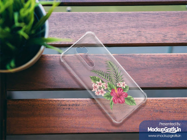 Mockup Softcase Anti Crack OPPO A9 (2020)