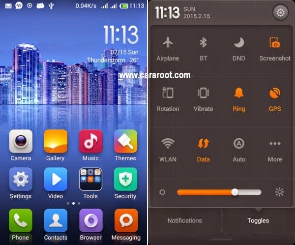 Gambar ROM Xiaomi MIUI v5 Smartfren Andromax G2 AD681H 1