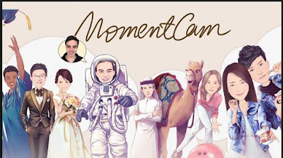 MomentCam Aplikasi Edit Foto Jadi Kartun