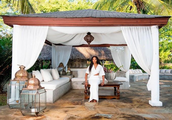 Naomi Campbell shows off luxurious Kenyan villa