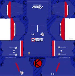 Cruz Azul 2018/19 Kit - Dream League Soccer Kits