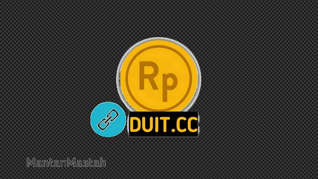 logo shortlink duit cc pemendek url
