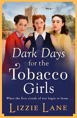 Dark Days for the Tobacco Girls by Lizzie Lane book cover