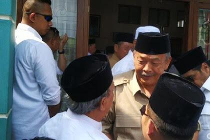 Mantan Gubernur Jateng 'Bibit Waluyo'  Kampanyekan Prabowo Sandi, Suara Banteng Terbelah