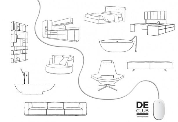 4bildcasa declub l 39 outlet del design sul web for Outlet del design