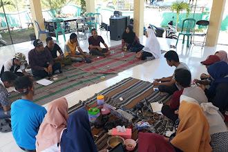 Persiapan Jalan Jalan Sehat Desa Padelegan Menyambut HUT RI Ke-73