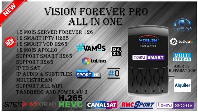 تحديث جديد لجهاز vision_forever_v132 بتاريخ