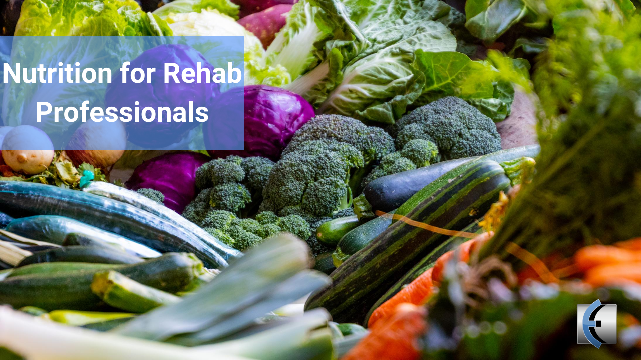 Nutrition for Rehab Professionals Webinar - modernmanualtherapy.com