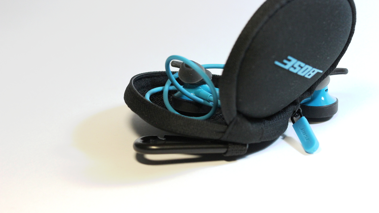 Kabelclip des Bose SoundSport Wireless