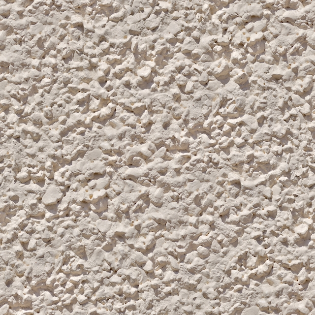 Seamless cream stucco wall plaster texture
