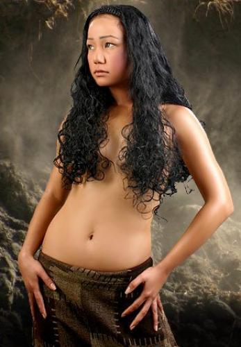 Spank nud girl brest