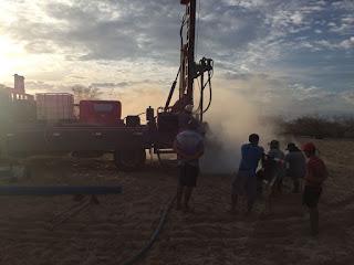 Prefeitura de Baraúna realiza perfuração de poços no município