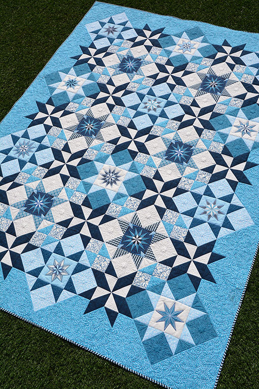 Stardust Quilt-Along designed by Amanda Murphy for We All Sew