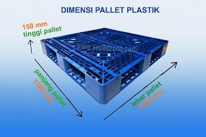 Mengenal Dimensi Ukuran Pallet Plastik