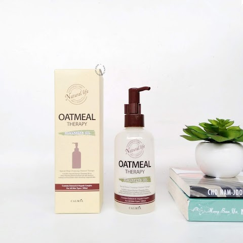 [REVIEW] Calmia - Oatmeal Therapy Cleansing Oil