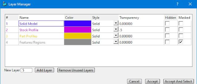 SmartCAM Layer Manager