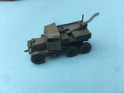 Scammell Recovery Vehicle by Arrowhead Miniatures