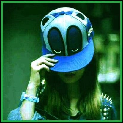 Girl with cap Stylish dp