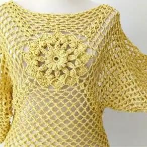 Salida de Baño a Crochet
