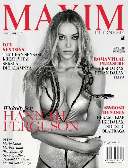 Download Majalah MAXIM Indonesia Edisi Februari 2017 - Download Majalah Magazine Ebook Gratis - InsightZone | www.insight-zone.com