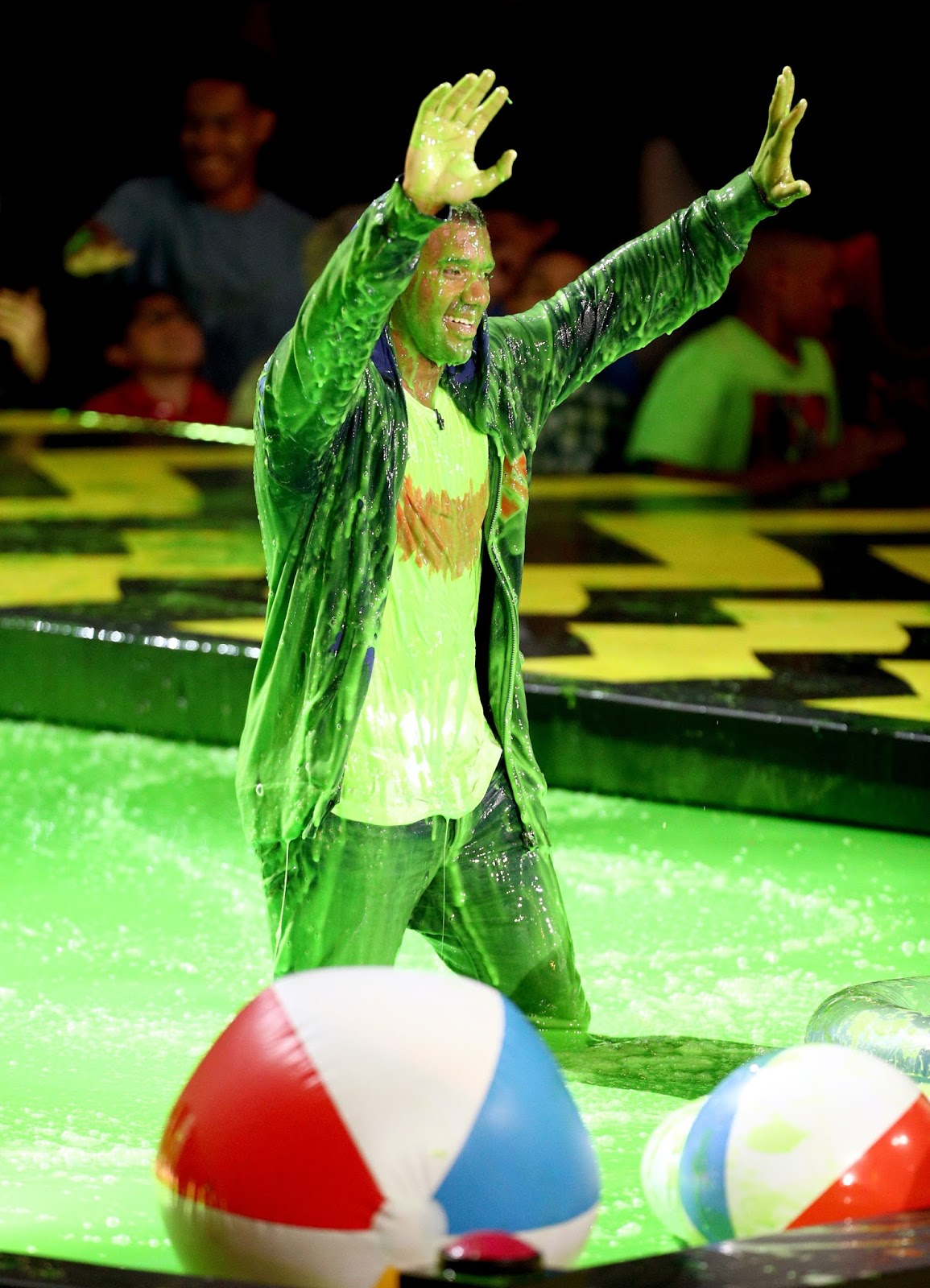 Kids Choice Sports 2017 Slime : choice, sports, slime, NickALive!:, Honor, Their, Favorite, Athletes, Nickelodeon's, Kids', Choice, Sports