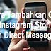 Cara Tambahkan Gif ke Instagram Stories dan Direct Message