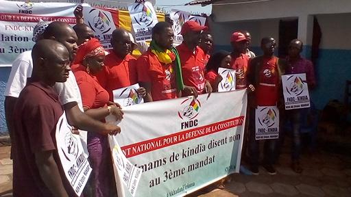 Guinée, Kindia : le coordinateur par intérim du FNDC  brise le silence en exigeant la libération des siens