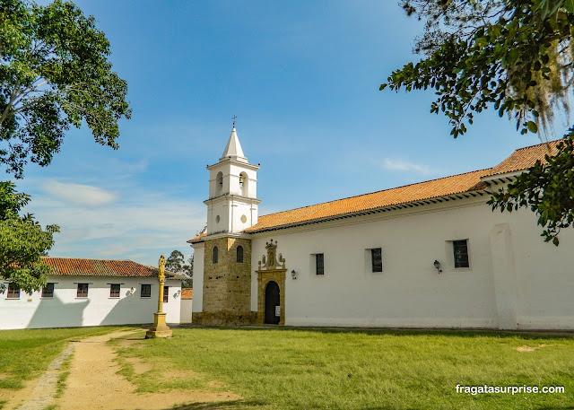 Igreja de El Cármen, Villa de Leyva, Colômbia