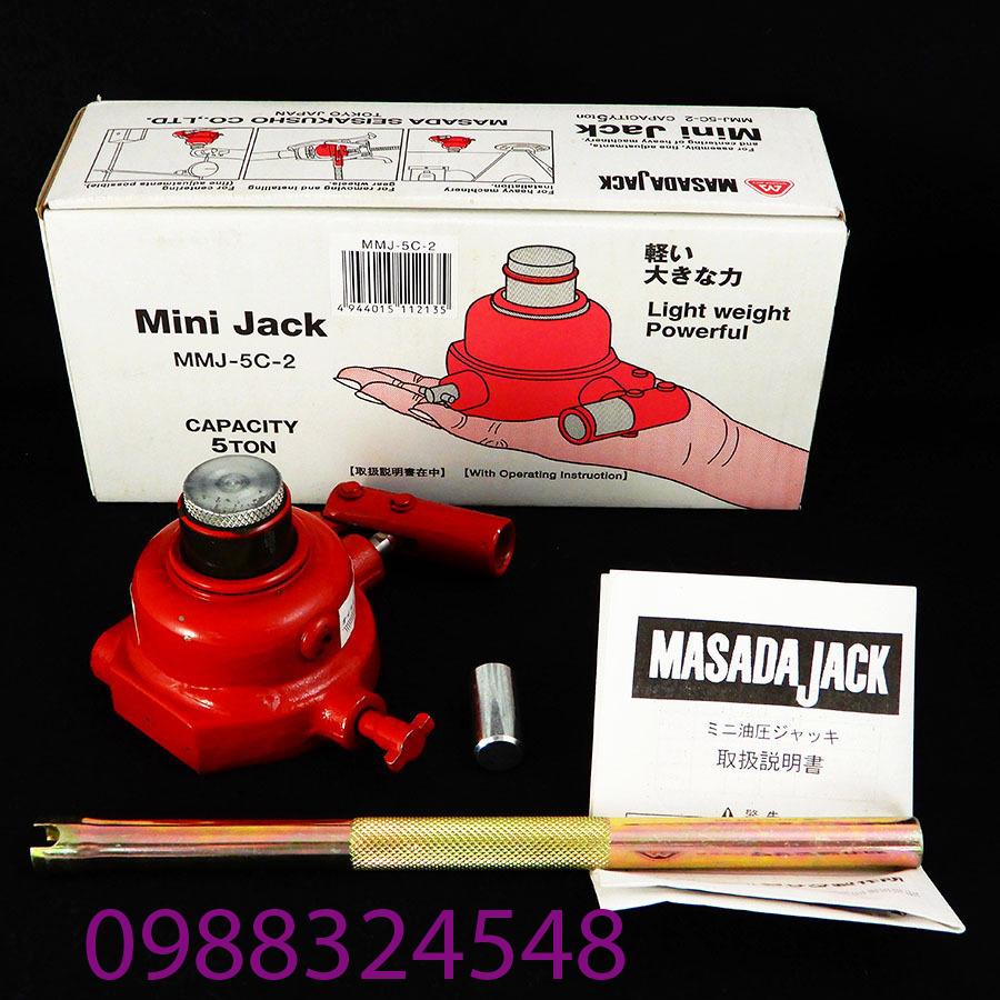 Con đội chai masada MMJ-5C-2 5 tấn