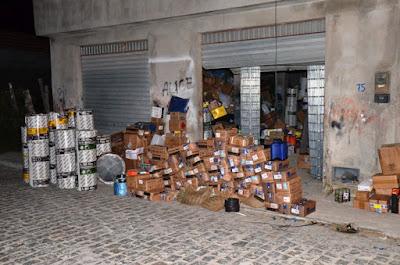 Mercadoria roubada avaliada em R$ 500 mil é recuperada em Coité