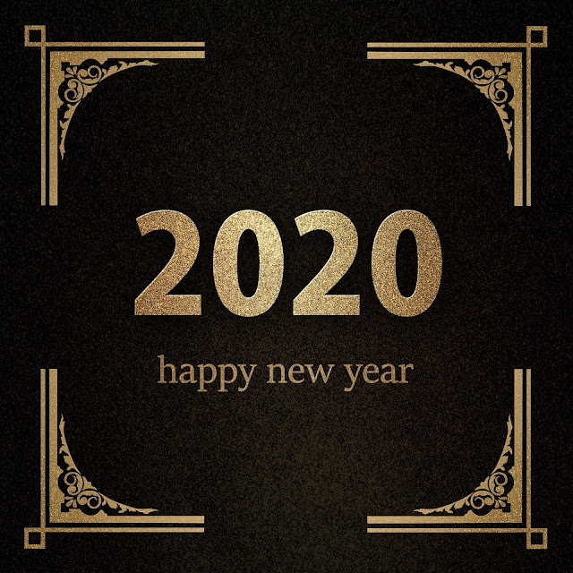 Happy New Year 2020 image