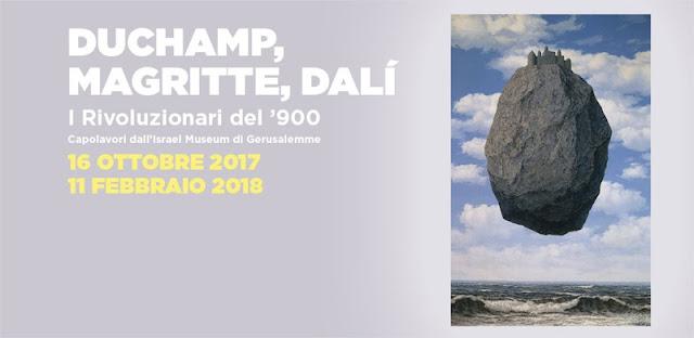 Mostra Duchamp, Dalì, Magritte a Bologna