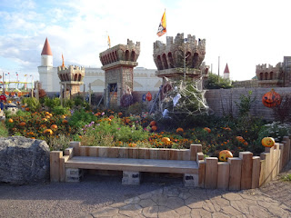 The maze at Southport Pleasureland
