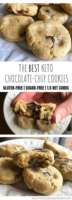 These cookies are soft, chewy and buttery..even my non-keto coworkers devoured them and asked me to bring in more!