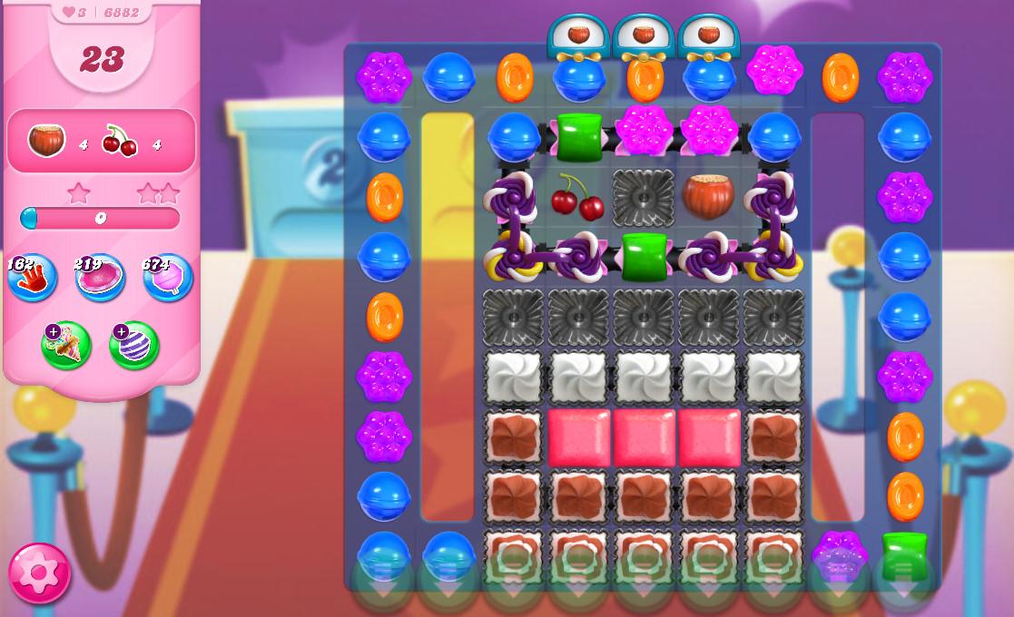 Candy Crush Saga level 6882