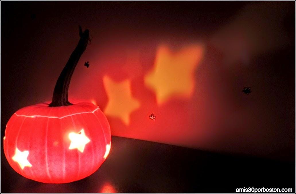 Calabazas Decoradas para Halloween: Estrellas