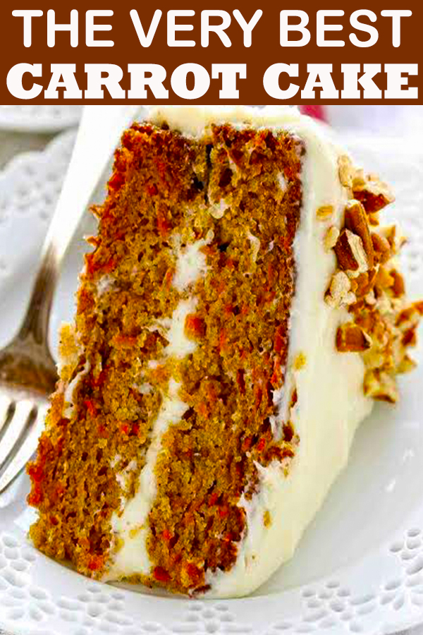 THE VERY BEST CARROT CAKE #THEVERYBEST #CARROT #CAKE #THEVERYBESTCARROTCAKE #dessert