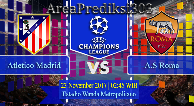 Prediksi Atletico Madrid vs Roma