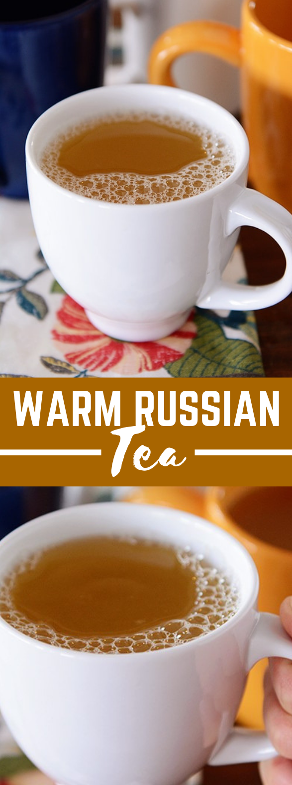 WARM RUSSIAN TEA #drinks #hotdrink