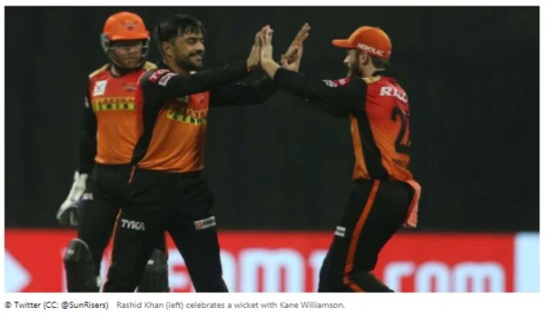 Rashid dominated the capitals as the Sunrisers won for the first time