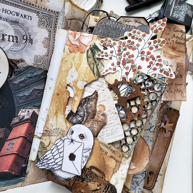 @nastyalena #scrapbooking #papercraft #album #необычные_альбомы #миниальбом