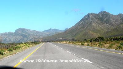 Unterwegs auf den Strassen von Suedafrika