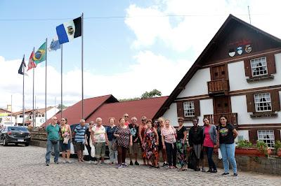 Grupo de viagem do SENAC - Nova Friburgo