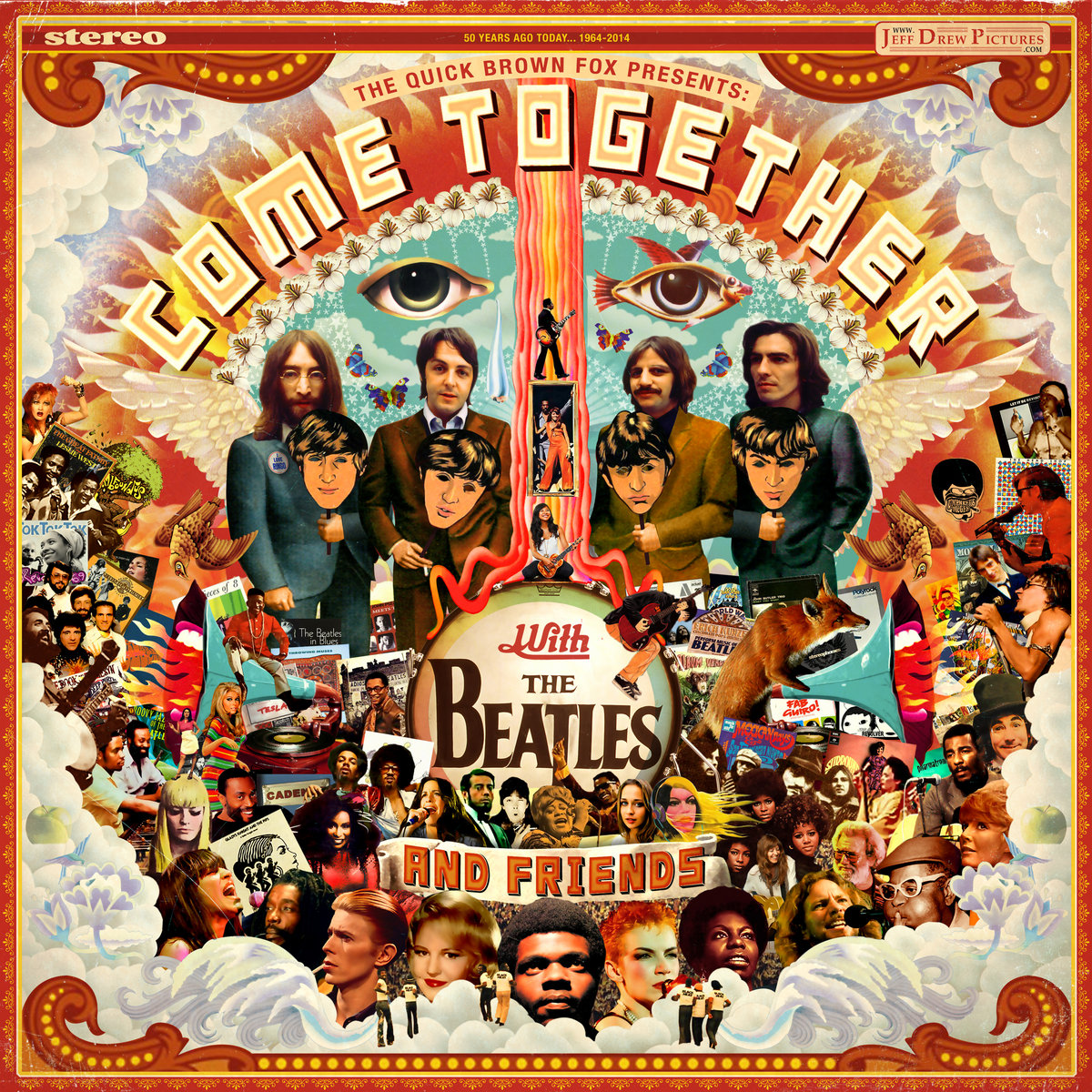 Come Together with The Beatles and Friends Mixtape von Jeff Drew | The Quick Brown Fox Mashup/Mixtape als Stream und Free Download