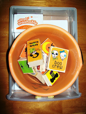 Halloween stamping activity